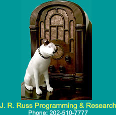 J. R. Russ Programming & Research Phone: 202-510-7777